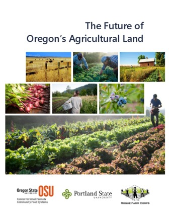 The Future of Oregon's Agricultural Land-10/12/16